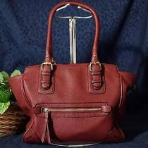 Nice Contemporary Barn Red Aldo Tote Handbag Photo