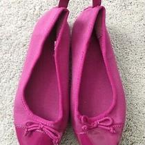 Nice Euc Gap Size 13 Pink Girls Dress Shoes Slip on Ballet Flats  Photo