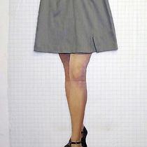 Nice Express Bleus Sz 9 / 10 Juniors Womens Gray Mini Skirt Stretch A0522 Photo