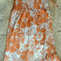 Nice for Summer Aeropostale Dress Beautiful Peach Color Size M Photo