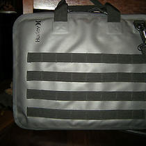 Nice Gray & Black Hurley Computer Carrying Case / Bookbag Photo