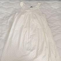 Nice Long White Shirt/dress Size 4 Theory Brand Photo