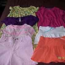 Nice Lot  Girls Dresses Skorts Shirts Size 7-8 Lands End Christie Brooks Etc   Photo
