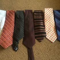 Nice Lot of 7 Express Design Studio Ties  Others Great Lot Photo