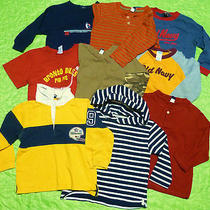 Nice Lot of 9 Gap on Other Famous Brands Long Sleeve Shirts Sz 3 Years Boys Photo