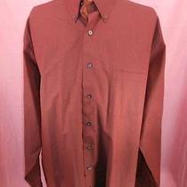 Nice Mens Dkny 2xlt Check Cotton Long Sleeve Button Down Dress Shirt Guc Photo