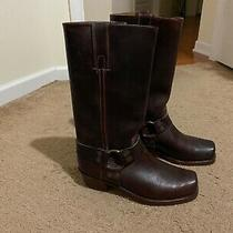Nice Mens Frye Brown Harness Boots Size 8 1/2 Great Deal Photo