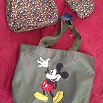 Nicemickey Mousegreenbag Setnewcute Avon New Photo