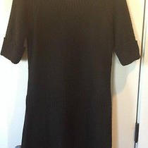 Nice Mossimo Womens Black Sweater Dress Size M Medium Photo