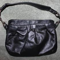 Nice New Floto Firenze Hobo Black Leather Purse Handbag Italy Photo