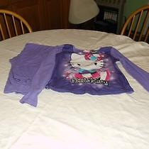 Nice Pair Girl's Pajamas Size 10/12 Hello Kitty Design Photo