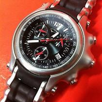 Nice Rare Oakley Holeshot Chrono Watch for Collectors Display Time Minute Metal Photo
