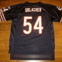 Nice Reebok Chicago Bears Brian Urlacher Youth Large Yl Navy Vtg Football Jersey Photo