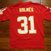 Nice Reebok Kansas City Chiefs Priest Holmes Youth Medium Football Nfl Jersey Xs Photo