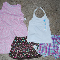 Nice Summer Lot of Girls 4t Clothing Name Brands All Nwt Photo