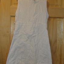 Nice White Gap Kids Flowery Dress Cotton Girls 10 Photo