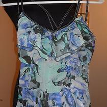 Nice Women's Dress by Jessica Simpson Blue/multi Size Xs Photo