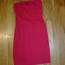 Nice Women's Maroon Strapless Pencil Dress by Express Size Extra Small Photo