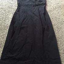 Nice Women's Size 6 Express Stretch Black Strapless Dress Outfit Photo
