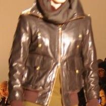 Nicholas K Bolt Jacket Sheep Leather Men's Sz Large. diesel.dsquared Photo