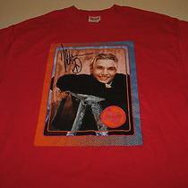 Nick Carter Band Member Backstreet Boys Vintage 2000 Red T-Shirt New Adult Large Photo