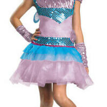 Nickelodean Winx Club Bloom Deluxe Girls Costume Photo