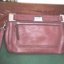 Nicole by Nicole Miller Leather Clutch W/ Removable Wrist Strap Photo