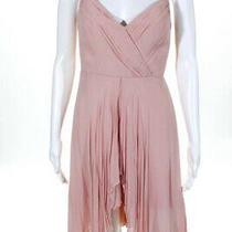 Nicole Miller Blush Pink Hi Lo Flirt Gown Size 4 495 10090245 Photo