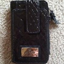 Nicole Miller Cell Phone Wristlet in Classy Black   Photo