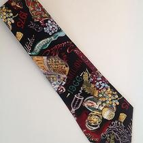 Nicole Miller French Wine Country Silk Tie Photo