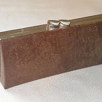 Nicole Miller Glasses Hard Case New York Brown Leather 6
