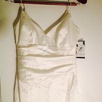 Nicole Miller Off White Evening Dress Photo