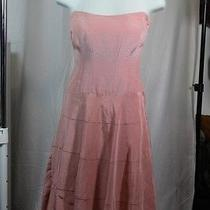 Nicole Miller Pink Corset Dress 2 Photo