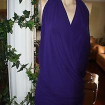 Nicole Miller Purple Dress Photo