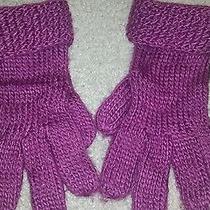 Nicole Miller Purple Gloves  Photo