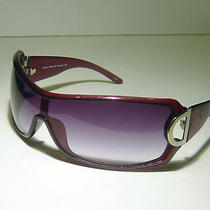 Nicole Miller Purple Sunglasses - Runway - Shield  110 Mm  Photo
