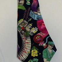 Nicole Miller Vintage Tie Nwt Neiman Marcus Bright Colors Doctor Medicine B1729 Photo