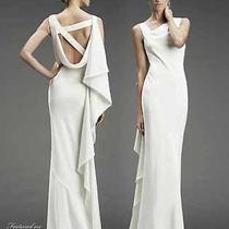 Nicole Miller Wedding Dress Sz 4 Photo