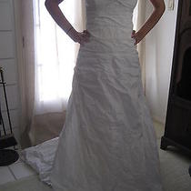 Nicole Miller Wedding Dress Sz 8 Gown Style Hg13 Beach Casual Brand New Photo