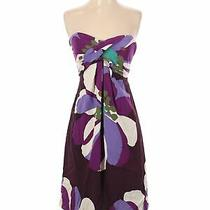 Nicole Miller Women Purple Casual Dress 2 Photo