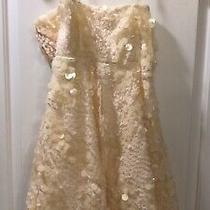 Nicole Miller Womens Sequined Blush Dress Size 4 Photo