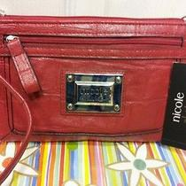 Nicole Miller Wrist Wallet Color Red  Photo