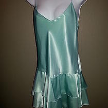Night N Day Intimates Mint Green Nightie Teddy Joie De Vie Lingerie Sz Small Photo