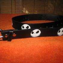 Nightmare Before Christmas Black Jack Skeleton Disney Tim Burton Belt Photo