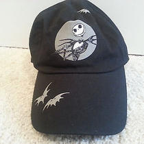 Nightmare Before Christmas Jack Skellington by Tim Burton Black Baseball Hat Cap Photo