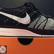 Nike 2013 Flyknit Trainer Black Ipod Ready Running Shoes (Men's Sz12) Max Free Photo