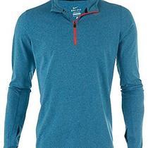 Nike 504606 Element Half-Zip - Blue/bright Crimson - Mens M Photo