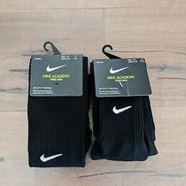 Nike Academy Dri-Fit Knee High Soccer Socks 2 Pair Men's Size 6-8 Wmns Size 6-10 Photo