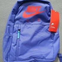 Nike Air Elemental 20 L Violet Backpack Purple Travel School Sports Gym New Nwt Photo