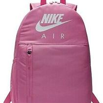 Nike Air Elemental Backpack 20l Pink With Zip Pouch. Photo